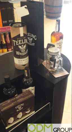 Teeling Whiskey's Mason Jar as Original Marketing Gift