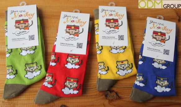 Lucky Monkey Socks