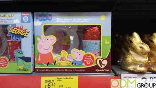 Peppa Pig's On Pack Promotion Easter Gift Set