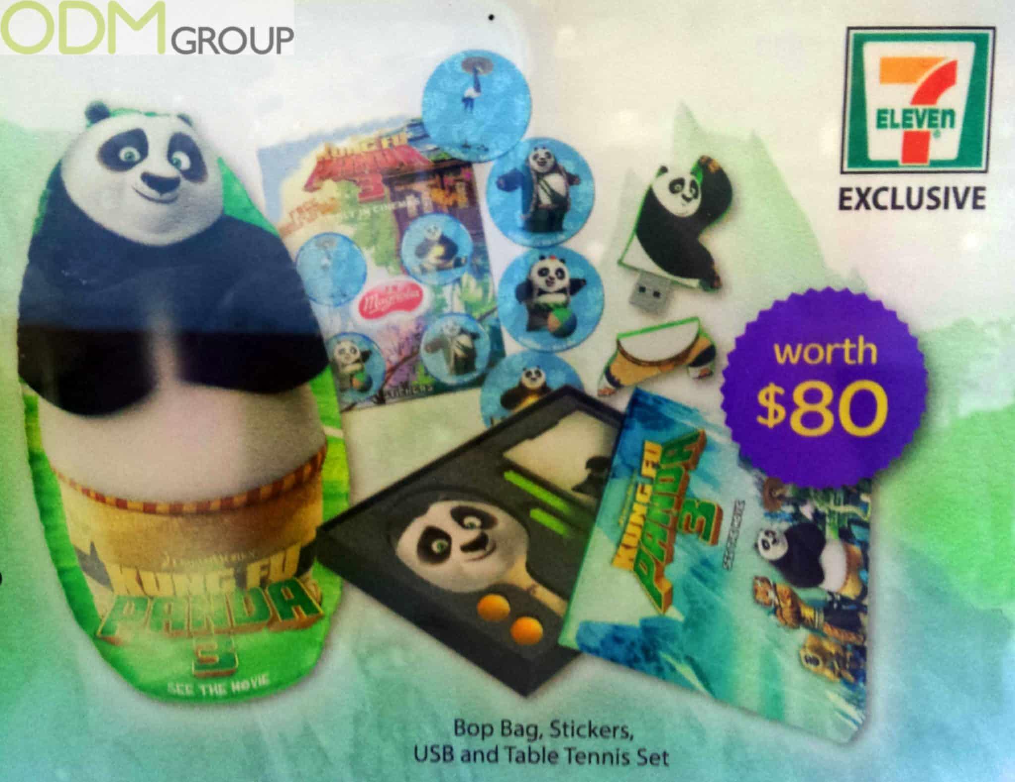 Animated Movie Promotion - Kong Fu Panda Gift Set