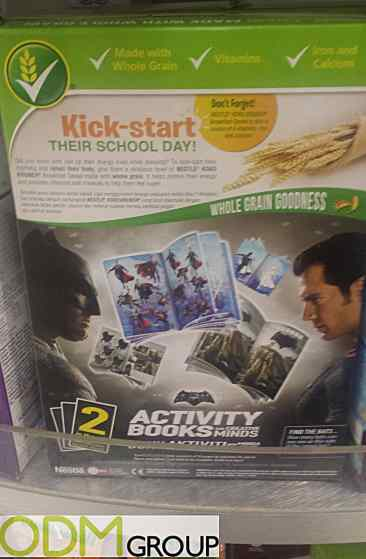 Batman vs Superman Promotion - Free Activity Book with Nestle Cereal
