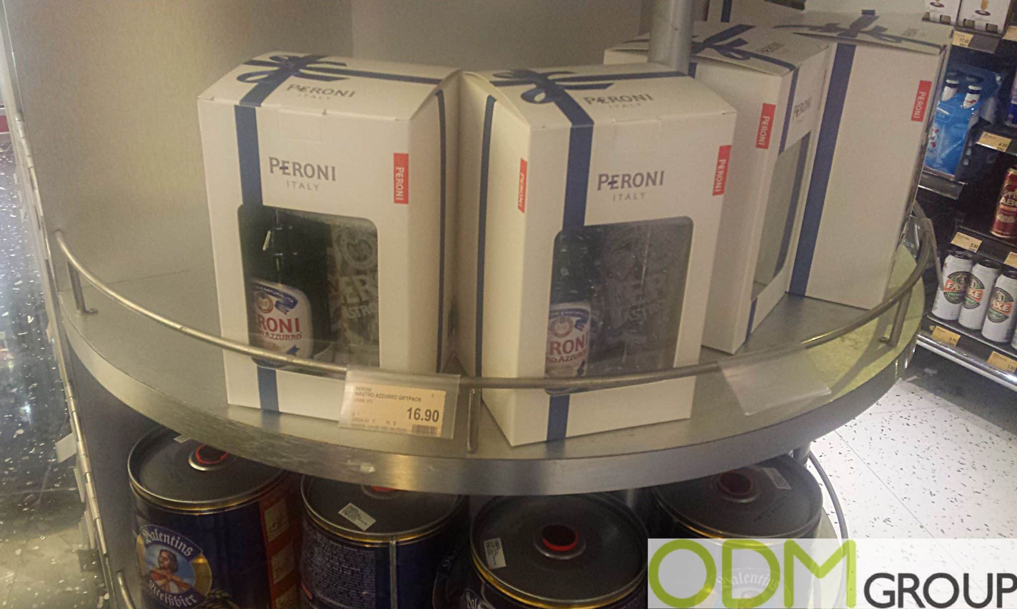 Peroni In-pack Promotion Offers Free Promo Glass