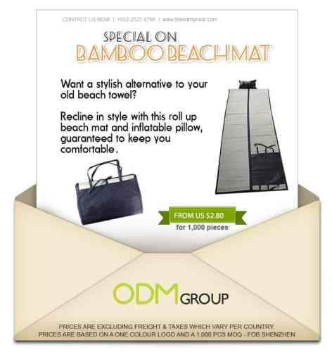 Bamboo Beach Mat Special Offer