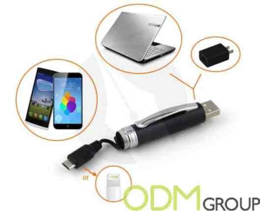 Unique Promotional Idea – Pen With USB Cable