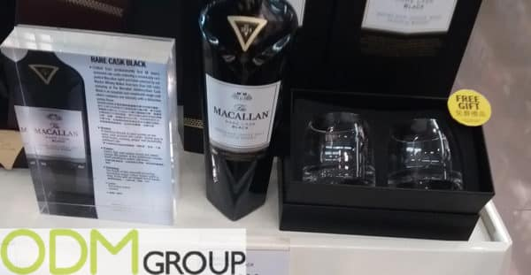 The Macallan Promo Idea - Custom Whiskey Glasses