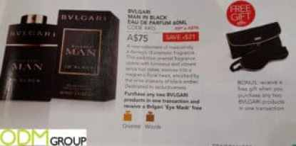 Premium Gift with Purchase Promo- Bvlgari Perfume