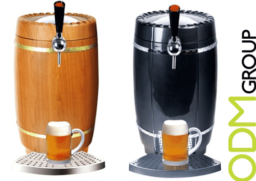 Custom Barrel Shape Dispenser – Beer Promo Idea