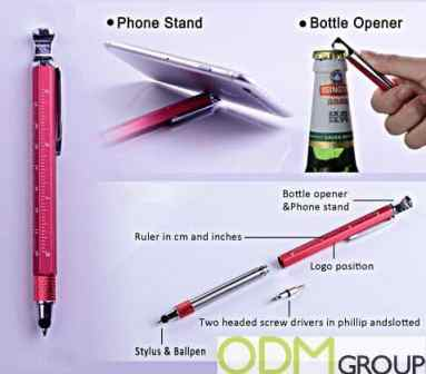 New Marketing Idea: Custom Multi-functional Promo Pen
