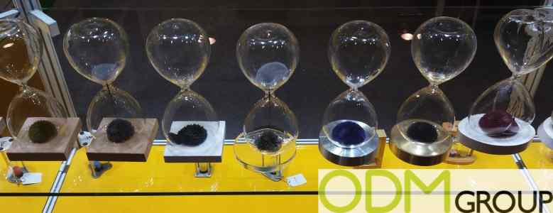 Custom Magnetic Sand Timer at HK Mega Show 2016