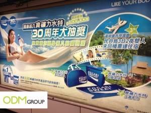 Pocari Marketing Promotion - 100,000 Shirts in China 3