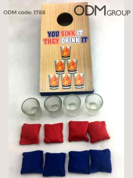Summer Promo Idea – Drinking Toss Game