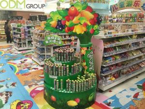 Awesome In Store Display by Nestle Frutips