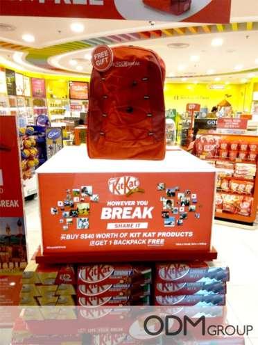 Kit Kat Promotional Backpack - Marketing in Singapore