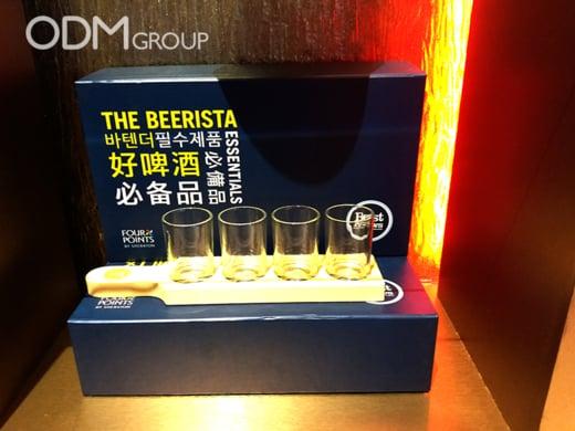 promo beer serving kit Sheraton