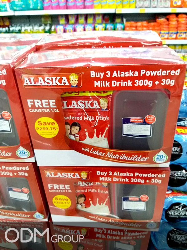 Food Storage Container: Branded Giveaway Idea from Alaska