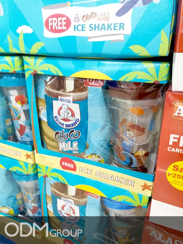 Custom Ice Shaker from Nestlé: How Gifts Increase Consumer Loyalty