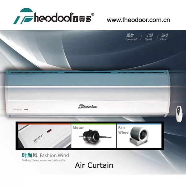 eco friendly restaurants hotels stores theodoor 36 48 60 72 inch air curtain with two speeds