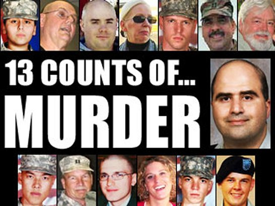 MAJ Nidal Malik Hasan and his victims