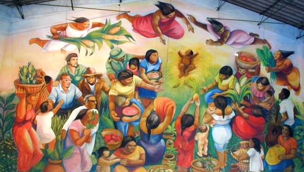Mural fe cristiana