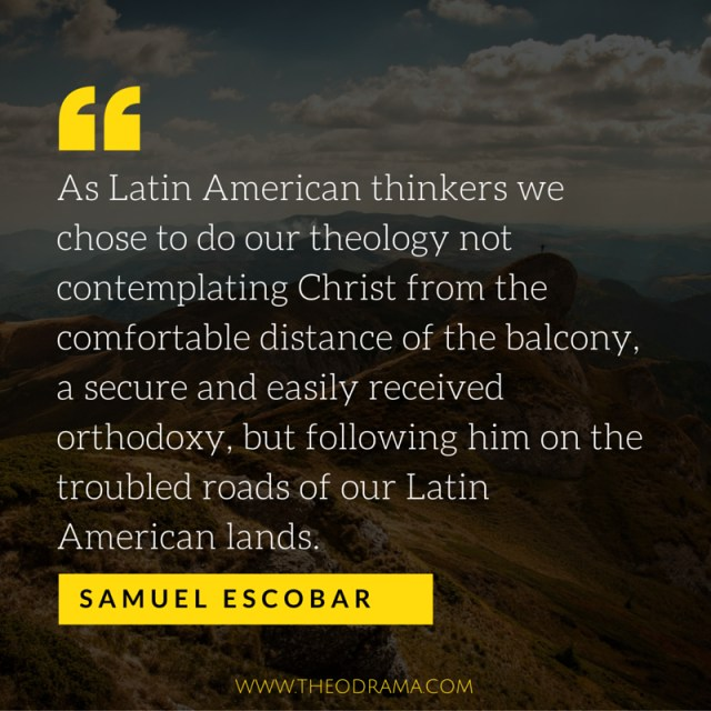 Samuel Escobar quote