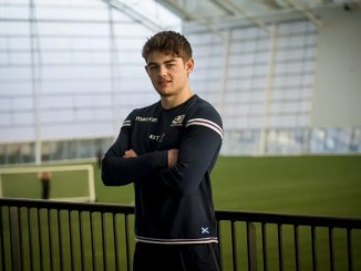 Scotland Under 20's and Glasgow Hawks stand-off Ross Thompson