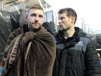 Finn Russell and Peter Horne
