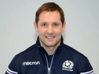 Scotland Club XV coach Robert Chrystie