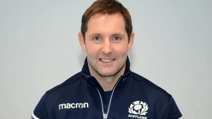 Scotland Club XV coach Robert Chrystie