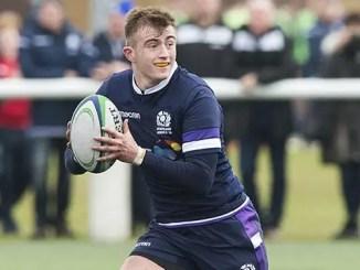 Scotland U18s' Nathan Chamberlain