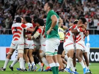 Japan v Ireland