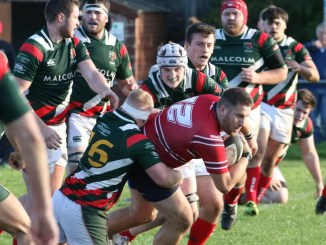 Tom Aplin was at the heart of the action as Aberdeen Grammar edged out GHA in a thriller at Rubislaw