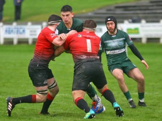 Hawick ran into a brick wall when they took on Glasgow Hawks at Mansfield Park.