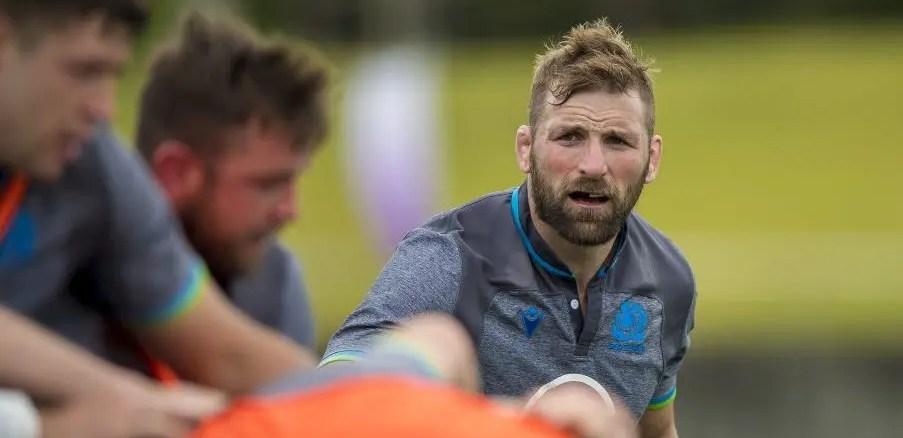 John Barclay returns to the Scotland team as captain against Russia.