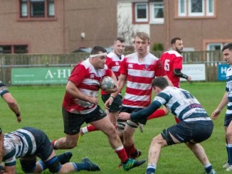 Kelso took confidence from last week's league win over Heriot's ahead of this weekend's derby cup match against Gala. Image: Gavin Horsburgh