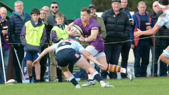 Marr are still top of the league table and lead the team try scoring table as well. despite being held to a draw by Edinburgh Accies. Image: Kenneth Ferguson