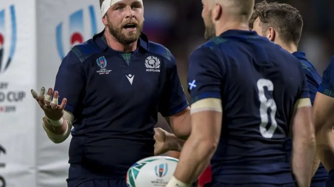Scotland are hoping that their final pool match against Japan on Sunday is not cancelled. Ryan Wilson