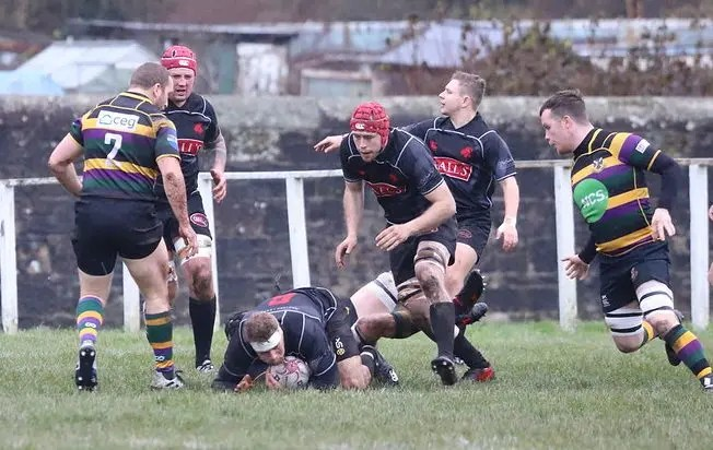 Biggar's march at the top of the table continued with a big win at Cartha Queens Park on Saturday. Image: Nigel Pacey