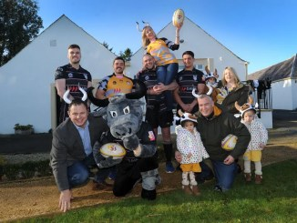 Ayrshire Bulls will be wearing new change ships this weekend which advertised their partnership with local charity Whiteleys Retreat, who provide vital therapeutic respite breaks to children, young people and their families with cancer or a life altering illness.