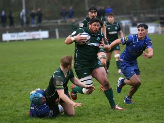 Hawick were emphatic winners in the Border derby against Jed-Forest. Image: Kenneth Baillie