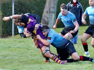 Top of the table Marr had to do it the hard way at Glasgow Hawks. Image: Anna Burns