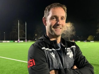 Southern Knights head coach Rob Chrystie at the Greenyards. Image: Mark Locke.