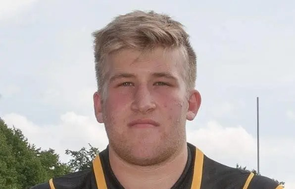 Luca Alessandri switched from second-row to tight-head prop in his first season in senior rugby. Image: Grahame Dunbar
