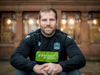 Deciding to sign a three-year contract extension with Glasgow Warriors was a pretty straight-forward decision for Fraser Brown. Image: Craig Watson