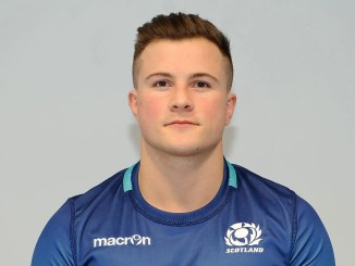 Scott Bickerstaff is set to make his debut on the World Rugby Sevens circuit for Scotland in Dubai this weekend. Image: ©Fotosport/David Gibson
