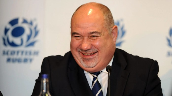 SRU Chief Executive Mark Dodson has benefitted from a huge hike in earnings. Image: Fotosport/David Gibson