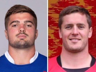 France back-row Gregory Alldritt [left] and older brother Scott of Stewart's Melville [right]