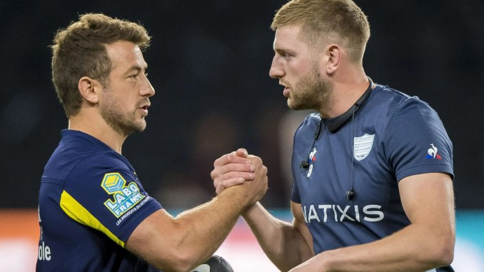 Will Greig Laidlaw and Finn Russell be coming up against each other in the French Top 14 next season?