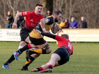 Mike Vernel is named in the second-row after a 'gazelle-like' performance for Currie Chieftains in their big win over Glasgow Hawks. Image: Fraser Gaffney