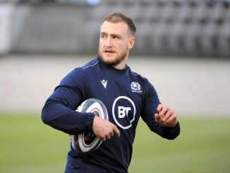 Stuart Hogg will lead Scotland against Ireland in their Six Nations opener. Image: Fotosport / David Gibson