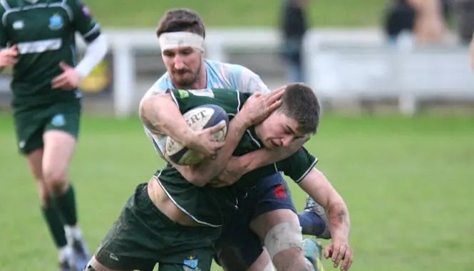 Hawick defeated Edinburgh Accies to book their play-off place. Image: Kenny Baillie